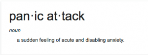 what is a panic attack definition