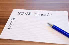 Index card 2018 goals