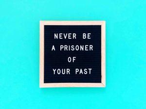never be a prisoner of trauma
